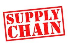 SUPPLY CHAIN Stock Photo