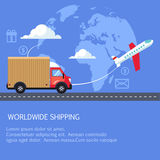 Supply and delivery logistics services in the Stock Images