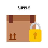 Supply design Royalty Free Stock Images