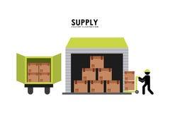 Supply design Royalty Free Stock Photo