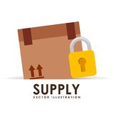 Supply icon Royalty Free Stock Images