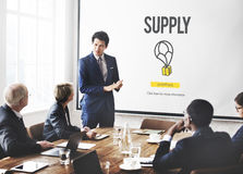 Supply Logistic Networking Distribution Stock Concept. Business Meeting Supply Logistic Networking Distribution Stock stock photography