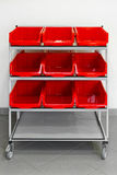 Supply trolley Stock Photography