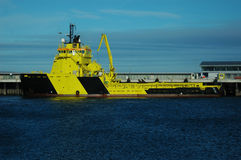Supply vessel Royalty Free Stock Photos