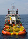 Supply vessel Royalty Free Stock Images