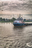 Supply vessel Royalty Free Stock Image