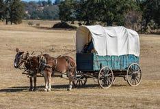 Supply Wagon Stock Photo