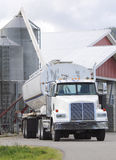 Supplying Grain Bin Stock Image