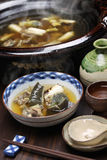 Suppon nabe, japanese cuisine Royalty Free Stock Photos