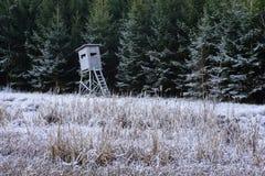 Support élevé de chasseurs Image stock