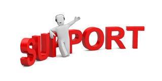 Support stock illustration