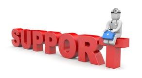 Support vector illustration