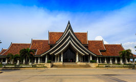 Support Arts and Crafts International Centre of Thailand Royalty Free Stock Images