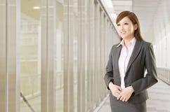 Femme asiatique sûre d'affaires Images libres de droits