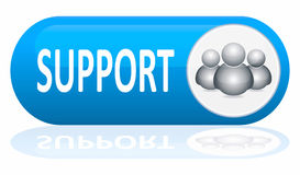 Support banner Royalty Free Stock Photo