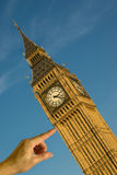 Support Big Ben Stock Photography