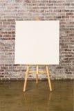 support blanc de toile images libres de droits