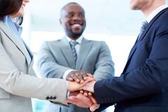 Support in business Stock Image
