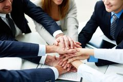 Support in business Stock Photo