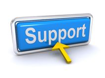 Free Support Button Stock Images - 20506204