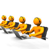 Support Callcenter Stock Photo