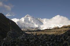 Support Cho Oyu, Népal Photo libre de droits