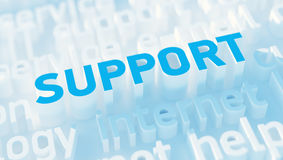 Support concept Royalty Free Stock Images