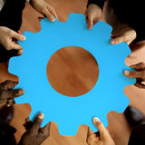 Support Corporate Teamwork Business Connection Concept.  Stock Images