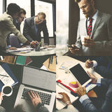 Support Corporate Teamwork Business Connection Concept Stock Image