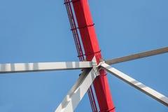 Support of curved steel girder of Chongqing Chaotianmen Yangtze River Bridge Stock Photography