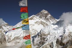 support d'everest photo libre de droits