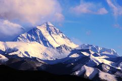 support d'everest Photo stock