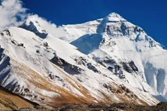 support d'everest image stock