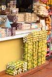 Support de bonbons dans Banos, Equateur Image stock