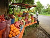 Support de fruit dans Bali Images libres de droits