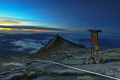 support de kinabalu Photos stock