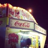Support de nourriture de carnaval Image stock