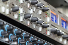 Support de studio de musique Images libres de droits