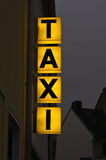 SUPPORT DE TAXI Images stock