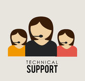 Support design Royalty Free Stock Image