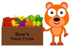 Support du porter ses fruits illustration stock