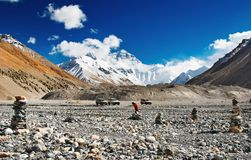 Support Everest image stock