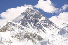 Support Everest 8848 M Photographie stock libre de droits