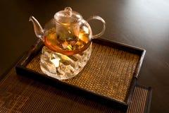 Support für Teekanne Stockfotos