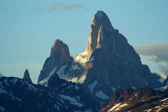 Support Fitz Roy images libres de droits