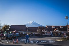 Support Fuji photos stock