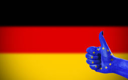 Support for Germany Stock Photography
