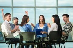 Support Group Royalty Free Stock Images