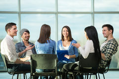 Support Group Stock Image