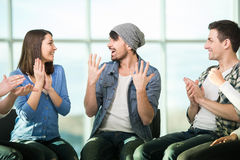Support Group Stock Images